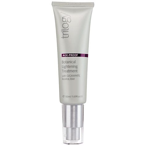 Buy Trilogy Botanical Lightening Treatment, 50ml Online at johnlewis.com