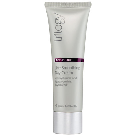 Buy Trilogy Line Smoothing Day Cream, 50ml Online at johnlewis.com
