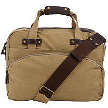 Buy JOHN LEWIS & Co. Canvas Flight Bag Online at johnlewis.com