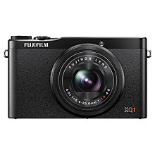 "Buy Fujifilm Finepix XQ1 Digital Camera, HD 1080p, 12MP, 4x Optical Zoom with 3"" LCD Screen with 16GB + 8GB Memory Card Online at johnlewis.com"