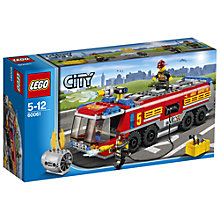 Buy LEGO City Airport Fire Truck Online at johnlewis.com