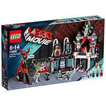Buy The LEGO Movie Lord Business' Evil Lair Online at johnlewis.com