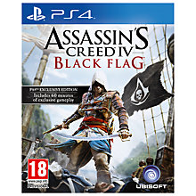Buy Assassin's Creed IV: Black Flag, PS4 Online at johnlewis.com