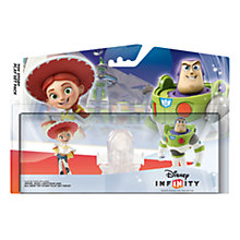 Buy Disney Infinity Toy Story Playset - Jessie and Buzz Lightyear, All Platforms Online at johnlewis.com