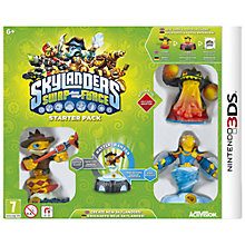 Buy Skylanders Swap Force Starter Pack, 3DS Online at johnlewis.com