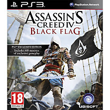 Buy Assassin's Creed IV: Black Flag, PS3 Online at johnlewis.com