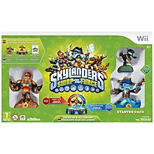 Buy Skylanders Swap Force Starter Pack, Wii Online at johnlewis.com