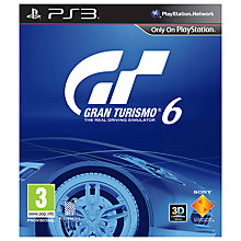 Buy Gran Turismo 6, PS3 Online at johnlewis.com