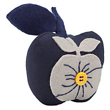 Buy John Lewis Apples Pin Cushion, Blue Multi Online at johnlewis.com