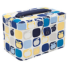 Buy John Lewis Apples Basket, Small, Blue Multi Online at johnlewis.com