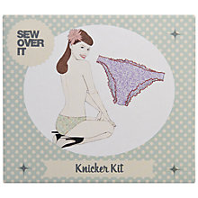 Buy John Lewis Sew Over It Knicker Kit Online at johnlewis.com