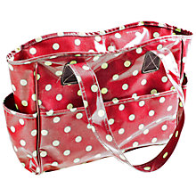 Buy Spotty Craft Bag, Small, Red Online at johnlewis.com