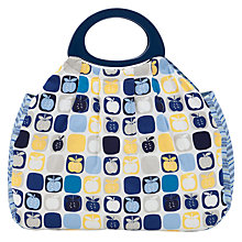 Buy John Lewis Apples Sewing Bag, Blue Multi Online at johnlewis.com