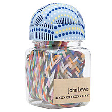 Buy John Lewis Apples Sewing Jar, Blue Multi Online at johnlewis.com