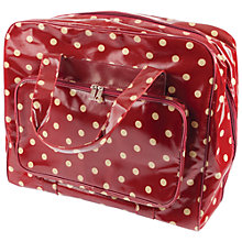 Buy Spotty Craft Bag, Large, Red Online at johnlewis.com