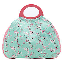 Buy John Lewis Blossom Craft Bag, Blue/Pink Online at johnlewis.com