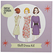 Buy John Lewis Sew Over It Shift Dress Kit Online at johnlewis.com