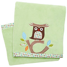 Buy Skip Hop Tree Top Fleece Baby Blanket, Green Online at johnlewis.com