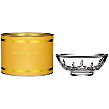 Buy Waterford Lismore Bowl, Clear, Small Online at johnlewis.com