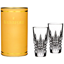 Buy Waterford Lismore Diamond Shot Glass, Clear, Set Of 2 Online at johnlewis.com