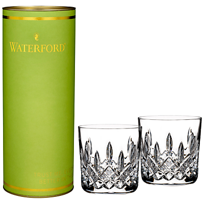Waterford Lismore Tumbler, Clear, Set Of 2