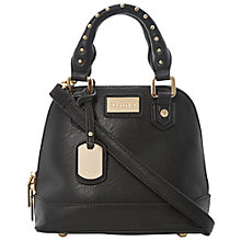 Buy Dune Dami Mini Structured Bag, Black Online at johnlewis.com