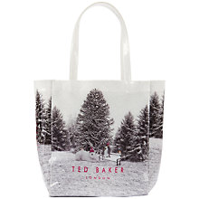 Buy Ted Baker Snow Place Shopper, Multi Online at johnlewis.com