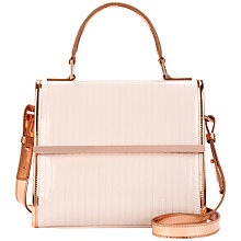 Buy Ted Baker Palolo Crossbody Bag, Nude Pink Online at johnlewis.com