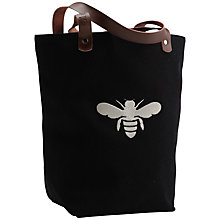 Buy Apple & Bee Bucket Bee Tote Bag, Black Online at johnlewis.com