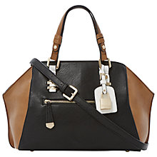 Buy Dune Dewine Winged Bowler Bag, Black Online at johnlewis.com