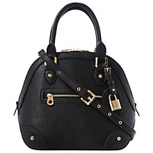 Buy Dune Dome Dolly Bag, Black Online at johnlewis.com
