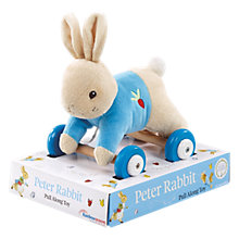 Buy Beatrix Potter Peter Rabbit Pull Along Online at johnlewis.com