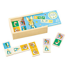 Buy Beatrix Potter Peter Rabbit Wooden Dominoes Game Online at johnlewis.com