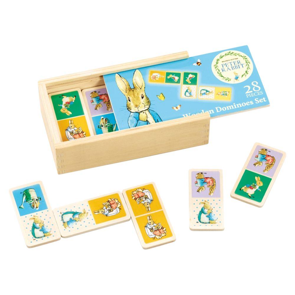 Beatrix Potter Beatrix Potter Peter Rabbit Wooden Dominoes Game