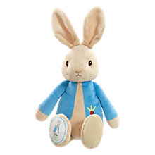 Buy Beatrix Potter My First Peter Rabbit Soft Toy Online at johnlewis.com