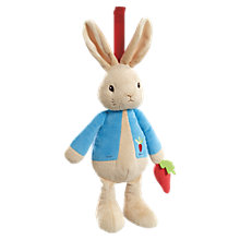 Buy Beatrix Potter Peter Rabbit Musical Pull Online at johnlewis.com