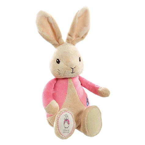 Buy Beatrix Potter My First Flopsy Rabbit Soft Toy Online at johnlewis.com
