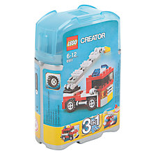 Buy LEGO Creator 3-in-1 Mini Fire Rescue Set Online at johnlewis.com