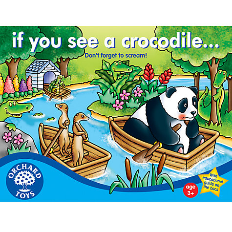 Buy If You See A Crocodile Colour Game Online at johnlewis.com
