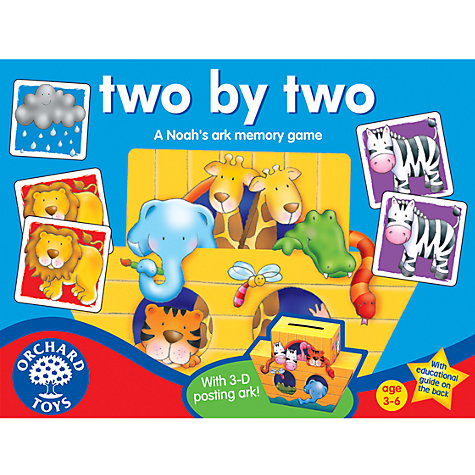 Buy Two By Two Memory Game Online at johnlewis.com