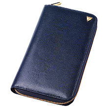 Buy Aspinal of London Zipped Travel Wallet with Passport Cover Online at johnlewis.com