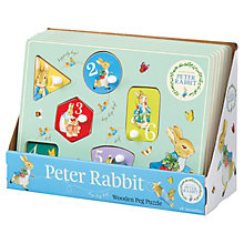 Buy Beatrix Potter Wooden Number Puzzle Online at johnlewis.com