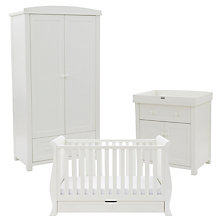 Buy Silver Cross Complete Nostalgia Nursery Set with Sleigh Cotbed, Antique White Online at johnlewis.com