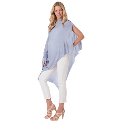 Buy Séraphine Summer Madison Shawl, Ice Blue Online at johnlewis.com