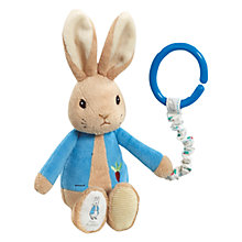 Buy Beatrix Potter Peter Rabbit Pram Toy Online at johnlewis.com