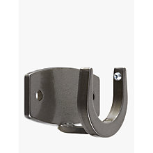 Buy John Lewis Croft Collection Polished Steel Recess Bracket, Dia.30mm Online at johnlewis.com