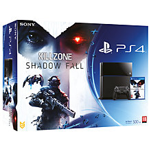 Buy Sony PS4 Console with Killzone: Shadow Fall, Call Of Duty: Ghosts, Controller & Playstation Plus Online at johnlewis.com
