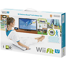 Buy Wii Fit U with Fit Meter and Balance Board, Wii U Online at johnlewis.com