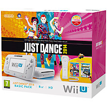 Buy Nintendo Wii U 8GB Basic Pack with Just Dance 2014, Wii Remote Plus and Sensor Bar Online at johnlewis.com
