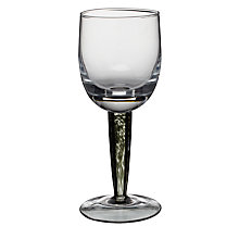 Buy Denby Jet White Wine Glass, Clear, Pack Of 2 Online at johnlewis.com